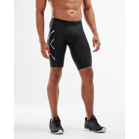 2XU Compression Pantaloncini Uomo, black/silver